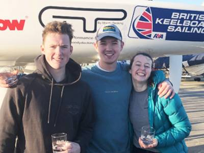 Fresh start to 2020 match racing season as Blowers wins again
