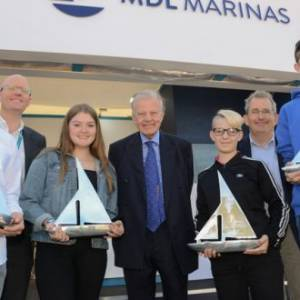 MDL's 2019 winning cohort presented with Sail Training Awards