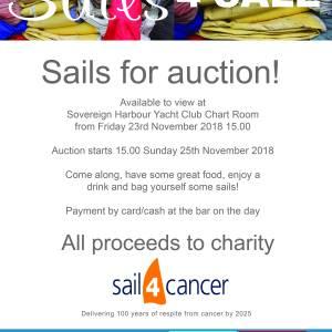 Charity Sail Sale!