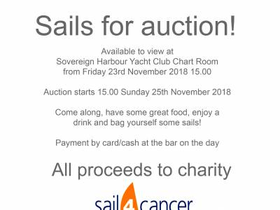 Charity Sail Sale!