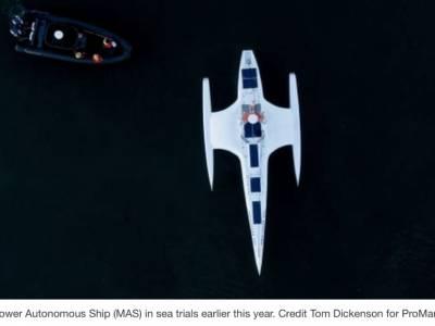 Fischer Panda UK Powers Ground-Breaking Mayflower Ship for Unmanned Atlantic Crossing in June