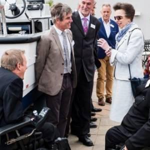 Princess Royal names new Wheelyboat