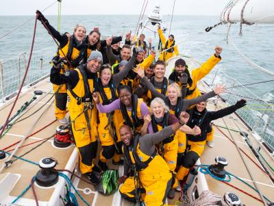 The Clipper Race partners with Our Isles and Oceans