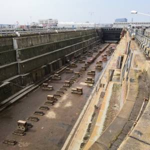 New superyacht shipyard facilities in Le Havre