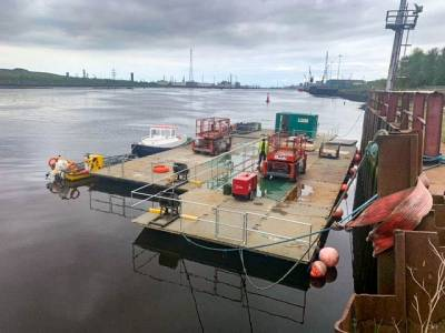 MRE and MM collaborates with North East Safety Boats