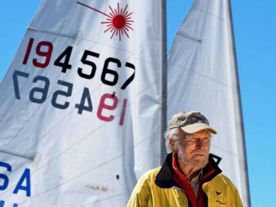 Olympian and Laser designer, Bruce Kirby, dies aged 92
