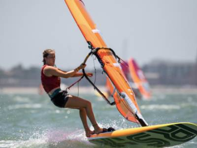Young windsurfers ready to take on the world at Youth Olympics