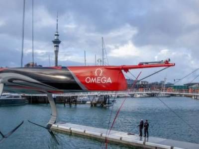 Emirates Team New Zealand launch their first AC75