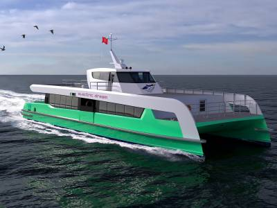 Shell to launch Singapore's first fully electric ferry service