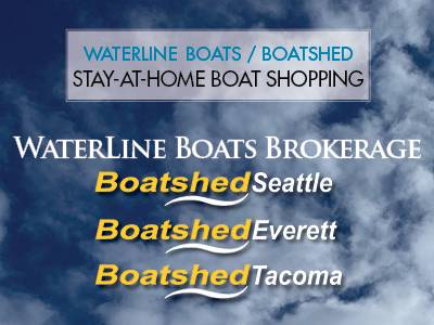 Stay-at-Home Boat Shopping – Waterline Boats / Boatshed