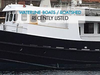 Waterline Boats / Boatshed Seattle Recently Listed – Halmatic 50 Expedition Trawler