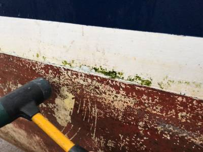 Bite Sized Hull Delamination and Crack Video