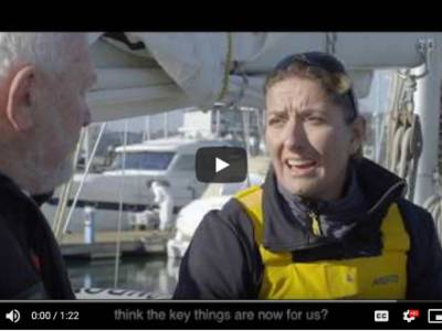 MS Amlin Yacht release Episode 3 of '80 Seconds with Sir Robin Knox-Johnston' – Safety at Sea