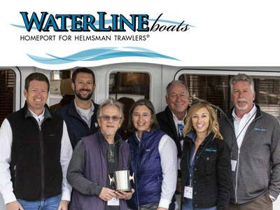 Helmsman Trawlers 38E Wins People's Choice Award at Trawlerfest!