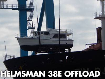 Helmsman 38E Offload in Norfolk, VA