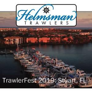 Helmsman Trawlers at TrawlerFest Stuart, FL