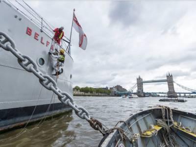 HMS Belfast Restoration with Jotun