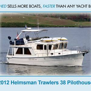 Recently Listed – 2012 Helmsman Trawlers 38 For Sale!