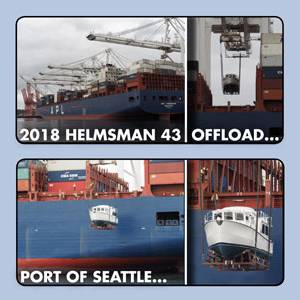 Helmsman 43 Offload – Port of Seattle