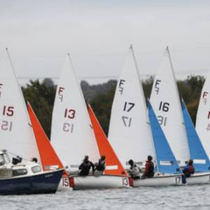 Young sailors ready for Eric Twiname Team Racing Championships