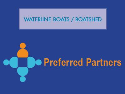 Waterline Boats / Boatshed Preferred Partner - Margaux Marine Graphics