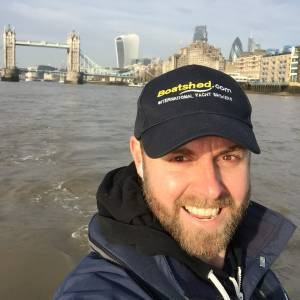Angus Rose - Boatshed Thames