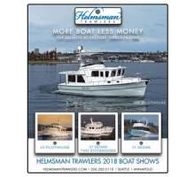 Helmsman Trawlers 2018 Boat Shows