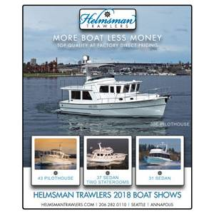 Helmsman Trawlers 2018 Boat Shows