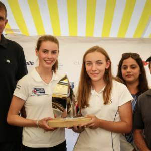 Teamwork rewarded with 2018 Round the Island Race Young Sailor Trophy