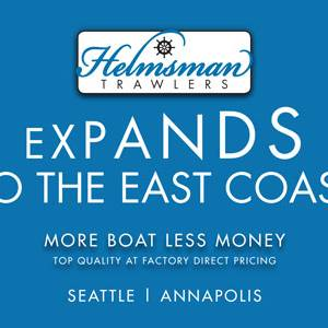 Helmsman Trawlers Expands to the East Coast!