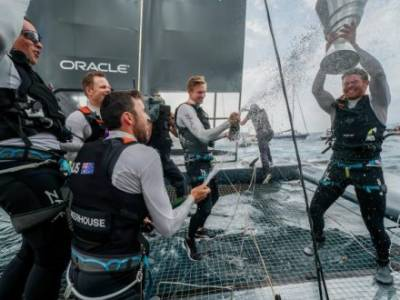 Tom Slingsby wins historic first SailGP Championship for Australia