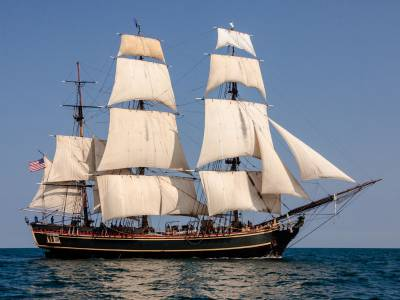 Astonishing Small Boat Voyages: Voyage of HMS Bounty's jolly boat.