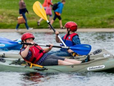 Book your free water activity taster today for Gosport Marine Festival