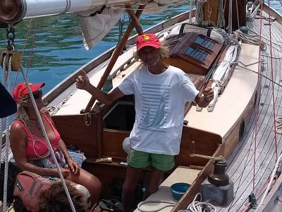 Boatshed sponsor - Antigua Classic Regatta - Single Handed Race / Thursday