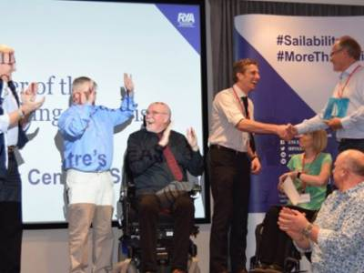 Sailability Champions recognised at the RYA Sailability Annual Awards