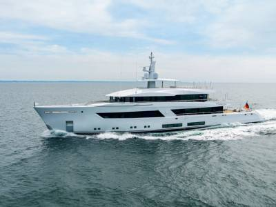 Lürssen's Project 13800 set for summer delivery and debut at Monaco