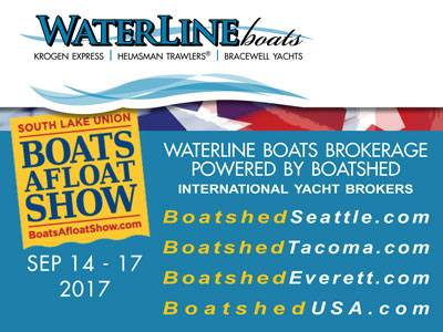 Waterline Boats / Boatshed at Boats Afloat 2017!