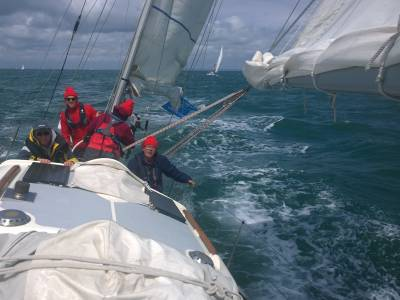 Neil Chapman starts the two handed ARC across the Atlantic to St Lucia
