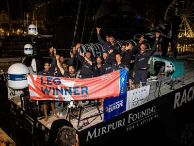 High-stakes tactic pays off for leg three winner of The Ocean Race Europe