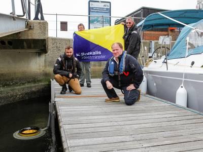 Boskalis funded Seabin installed at Hythe Marina Village