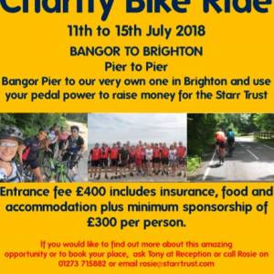 A great chance to support a really important local Brighton charity!