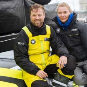 Jodie Kidd joins Alex Thomson