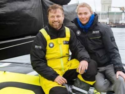 Jodie Kidd joins Alex Thomson