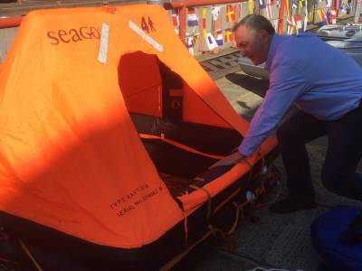 What's Inside a Liferaft? Take a Look With Boatshed Brighton Yacht Brokers!
