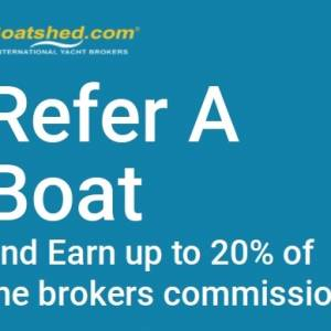 Boatshed Refer a Boat