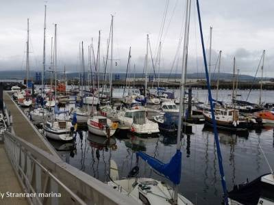 Circumnavigating the UK in a Leisure 27, Part 13 - Stranraer - Weather Bound!