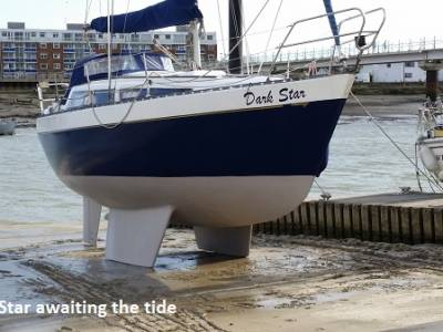 Circumnavigating the UK in a Leisure 27, Part 2 - The Boat