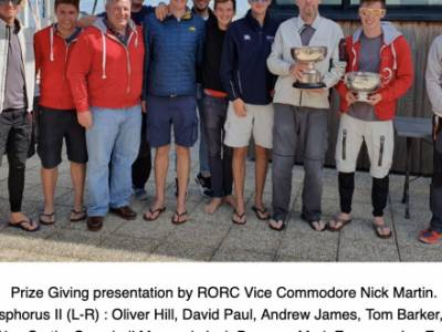 Phosphorus II wins RORC Cherbourg Race