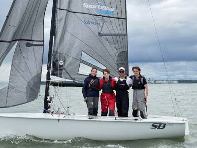 Opportunity Knocks for the IAKA Youth Team at Cowes Week
