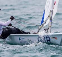 GBR sailors in push for the podium as Youth Worlds hits half way stage